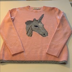 Coach unicorn sweater